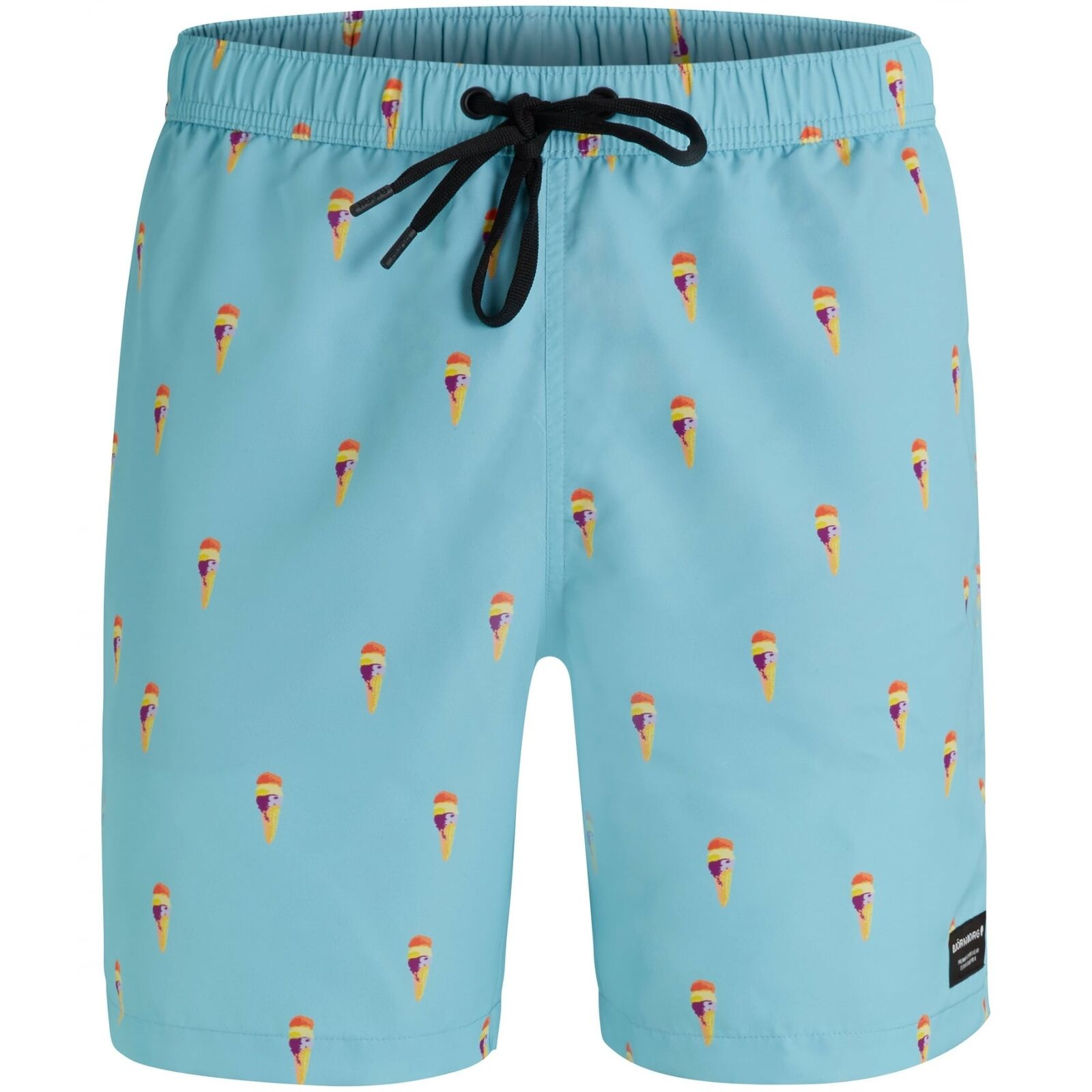Bjorn Borg Ice Cream Print Men's Swim Shorts, Soft bluee