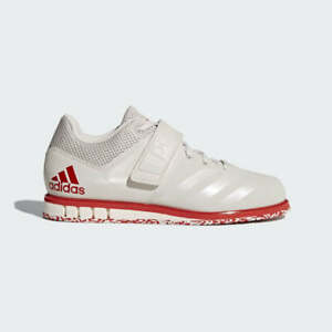 NEW-140-adidas-MEN-WEIGHTLIFTING-POWERLIFT-3-1-SHOES-CQ1773-CHALK-PEARL