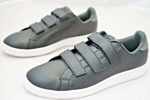 Puma Smash Leather Adults Trainers Shoes Size UK 8.5   EU 42.5 Black 31e5ad8df