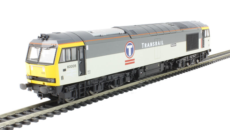 Hornby R3267XS, TRANSRAIL Co-Co Diesel Clase 60 Eléctrico Con Sonido DCC