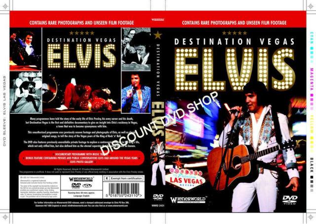 elvis presley-destination vegas (dvd, 2007) neuware