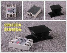 Ssr 25da Ssr 40da Solid State Relay 24 380vac 3 32vdc 25a 40a Alloy Heat Sink