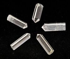 Quartz Crystal Single Terminated Point Wand Flat Base 25-30mm 1 Supplied