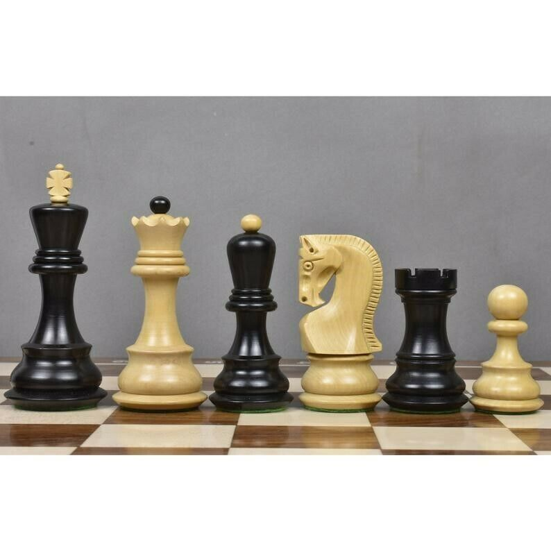 Zagreb Fischer (Old Russian) Chess Sets - Wood, Extra Queens