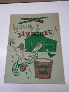 Original-034-New-England-Hillbilly-Jamboree-034-Vintage-Souvenir-Book-Early-1950-039-s-EX
