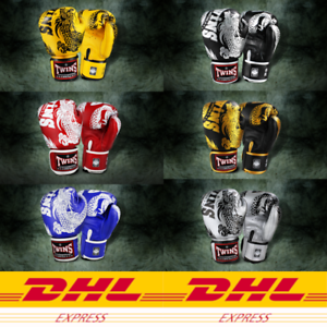 DHL Express 3-5 Day B Twins Special FBGV-49 Dragon Fight Boxing MuayThai glove