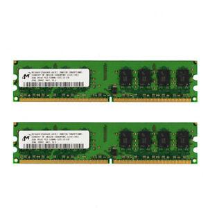 Micron 1GB Memory PC2-5300U-555-12-ZZ DDR2 RAM