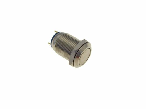 M12 Metal PushButton Switch Panel Mount Momentary type