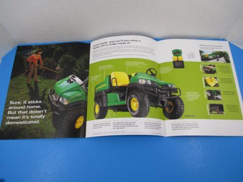 Original John Deere Sales Brochure Gator Utility Vehicles C-Series CX M1339