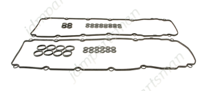 Set of 2 Engine Valve Cover Gaskets Left /& Right For Jaguar S-Type XJ8 XJR XKR