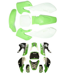 Sticker And Plastic Fender For Kawasaki Klx 110 Drz Kx65 140 150
