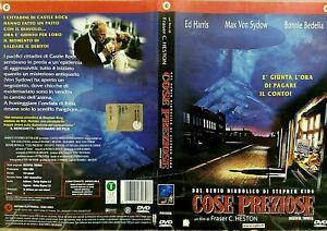 COSE-PREZIOSE-1993-DI-STEPHEN-KING-DVD-USATO-RARO-OTTIME-CONDIZIONI