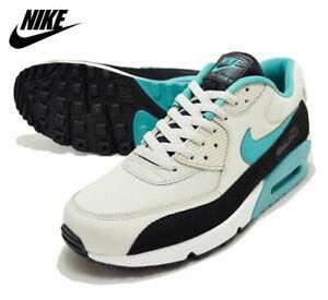 15c632a5df686 Nike Air Max 90 Essential Sneakers, Light Bone / Turquoise AJ1285 ...
