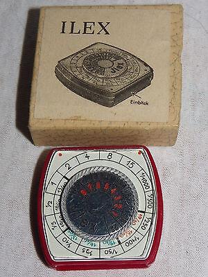 Belichtungsmesser Ilex Ca.1940/50 Mit Anleitung Tropf-Trocken Foto & Camcorder