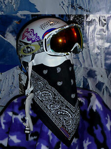 Image is loading SNOWBANDITS-FACE-MASK-Ski-Snowboard-Bandana-amp-Fleece- fc7835712