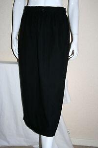 Womens Black Midi Skirt A Line Leisure Skirt Size 16 18 20 22 24 New