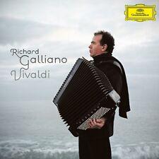 RICHARD GALLIANO VIVALDI CD DELUXE EDITION NUOVO SIGILLATO !!
