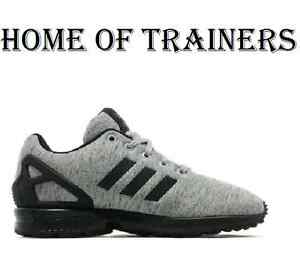 2c1181a4f73b1 Adidas Zx Flux Torsion(GS) Black Black Grey Women Boy Girls Trainer ...