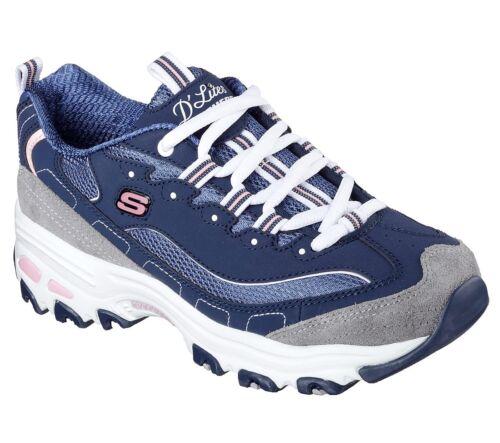 Casual Marine Bleu Chaussures Sport Dlites Skechers 11947 Confortable Femme p50vqwx