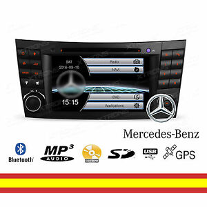 Autoradio-Navegador-GPS-Radio-CD-DVD-Bluetooth-Mirroring-Mercedes-Benz-Canbus