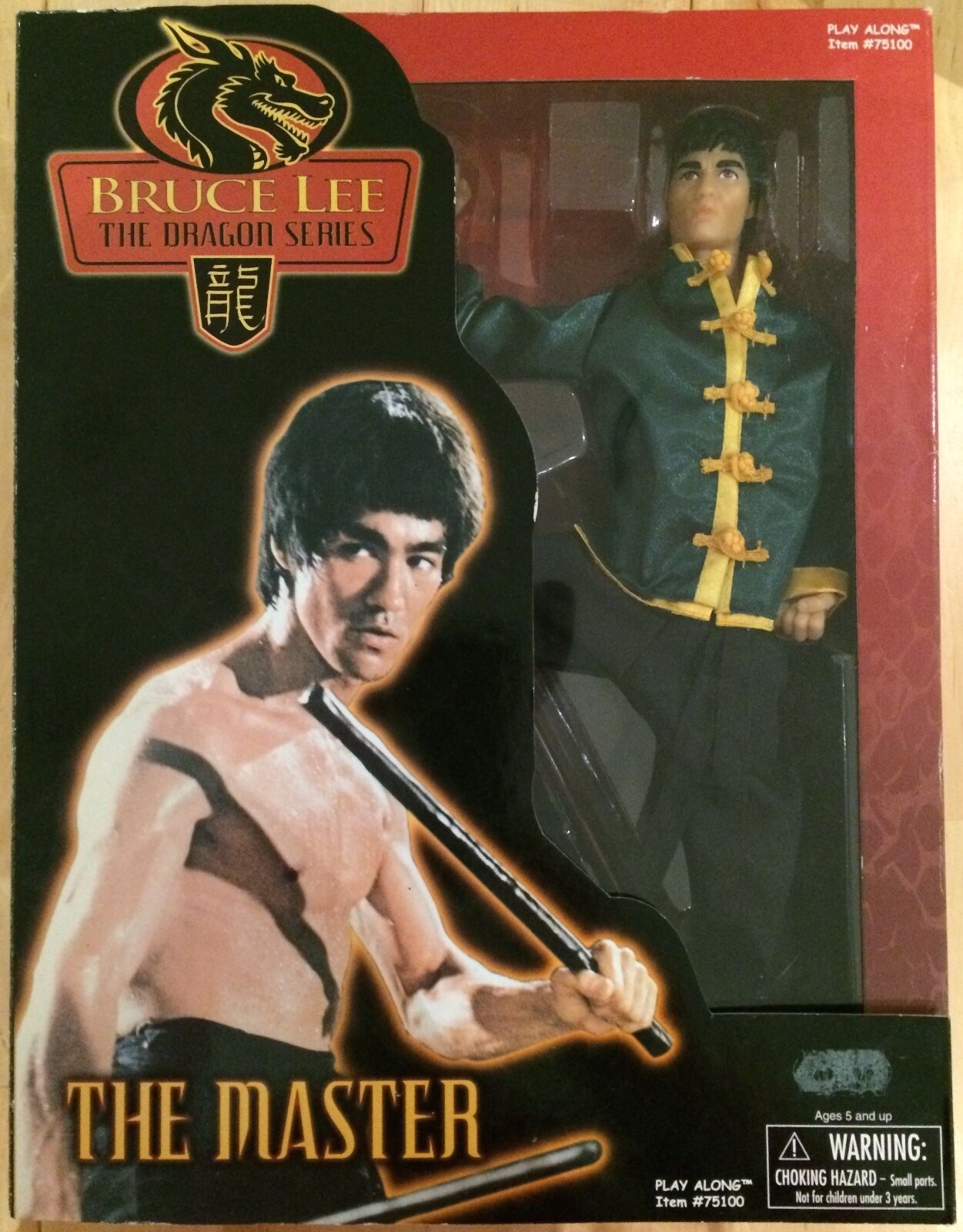 Bruce Lee The Dragon Series - The Master 11  posable figure