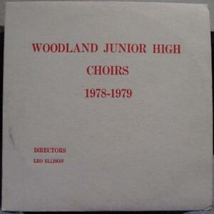 Woodland Junior High School Spring Choral Concert 1978