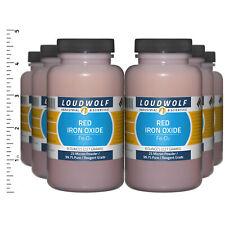 Iron Oxide Red 3 Lb Total 6 Bottles Reagent Grade 25 Micron Powder Usa Seller