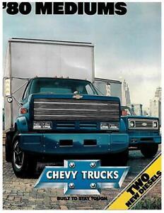 1980 Chevrolet Pickup Factory Brochure-16 pages-Chevy C20 Silverado Fleetside