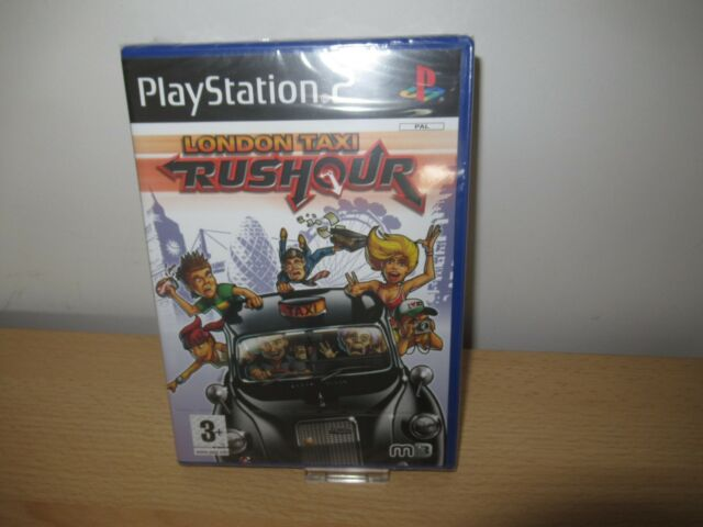 PlayStation 2   London Taxi Rushour  UK PAL ps2 new sealed