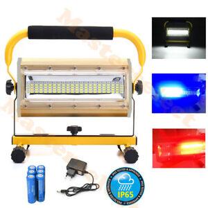 LAMPE-PROJECTEUR-SPOT-A-MAIN-LED-100w-PUISSANTE-FORT-RECHARGEABLE-18650