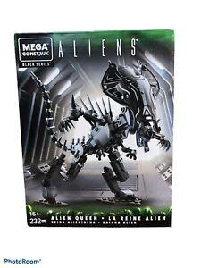 Mega Construx Black Series ALIENS Alien Queen 232 PC 2020 Mattel new sealed box