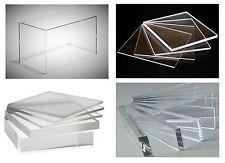 "Clear Transparent Acrylic Plexiglas Plastic Sheet Plex Masked 1/4"" x 30"" x 48"""
