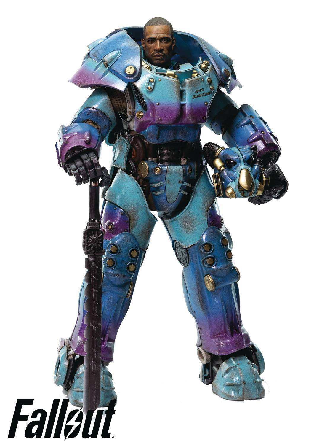 FALLOUT X-01 POWER ARMOR QUANTUM ONE 6th SCALE ACTION FIGURE