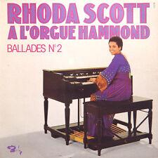 RHODA SCOTT A L'orgue Hammond Ballades N° 2 FR Press Barclay 80 575 1975 LP