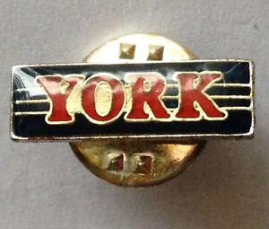 YORK-Tiny-Pin-Badge-Rare-Vintage-Advertising-F10