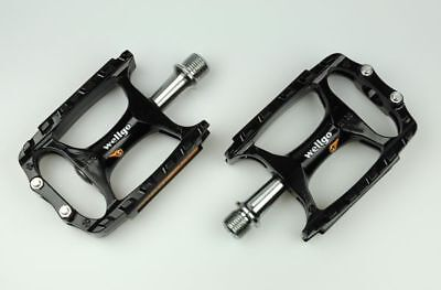 New Wellgo MTB M138 Magnesium CNC Mountain Bike Pedal MTB Pedals Only 238g-Pink