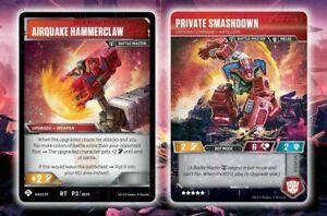 Private Smash Down Transformers TCG Launch Promo Foil