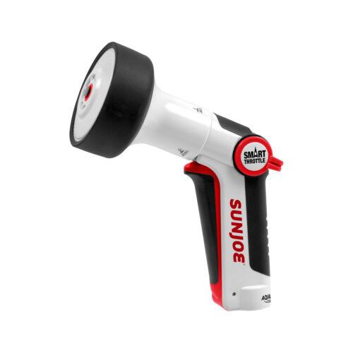 Sun Joe Rubberized Locking Handle Hose NozzleFour Adjustable Spray Patterns