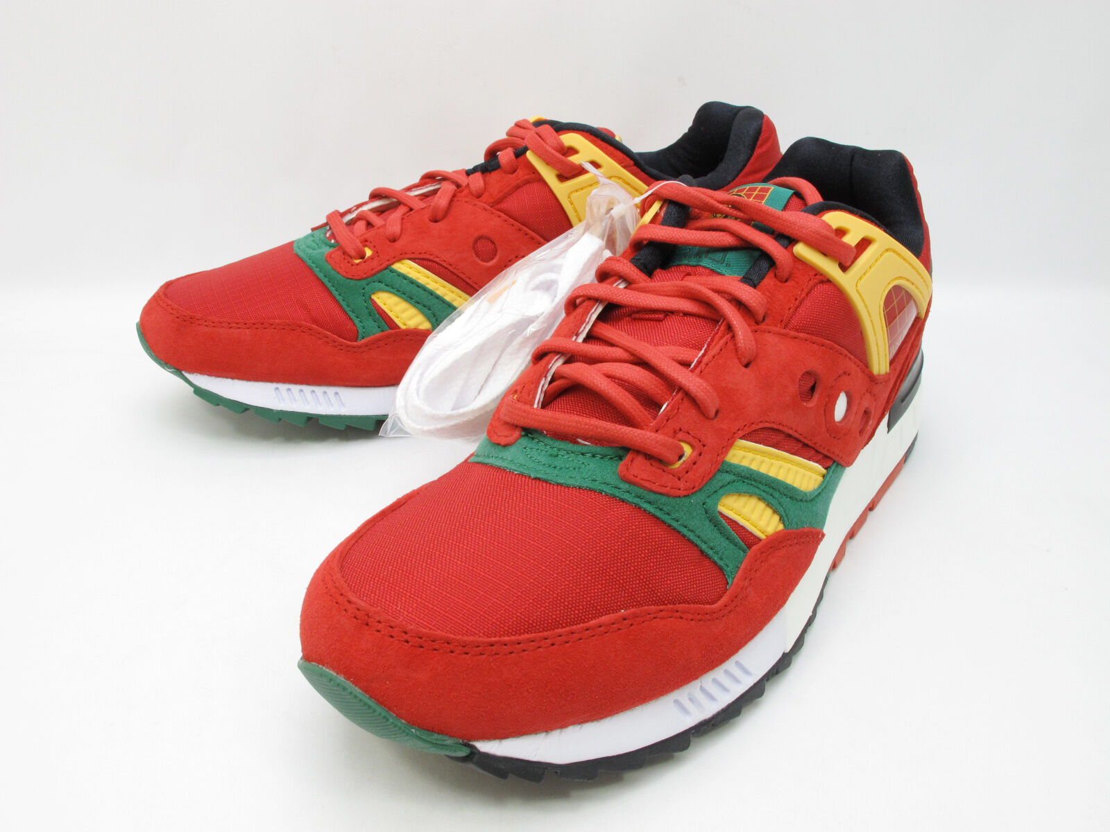 DS 2018 SAUCONY GRID SD X PACKERS X JUST BLAZE RED YELLOW CASINO