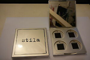 Stila 4 Pan Compact Case Folding Compact Mirror Handbag Purse Mirror By Stila Ebay