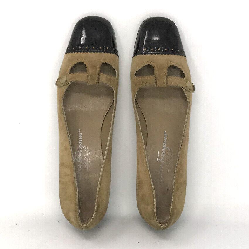 Salvatore Ferragamo Boutique Womens Tan Leather L… - image 7