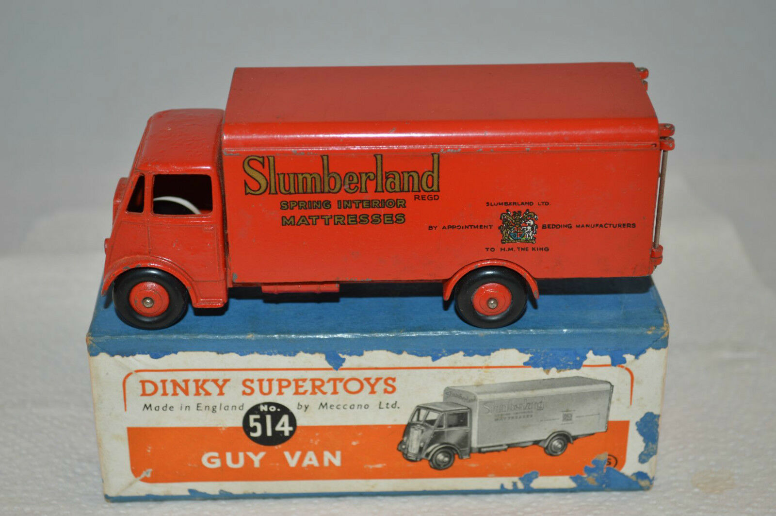 Dinky Toys 514 Guy Van Slumberland excellent plus all original in box