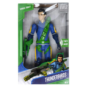 Thunderbirds Are Go Rescue Ready Virgil Tracy 12 Action Figure NEW