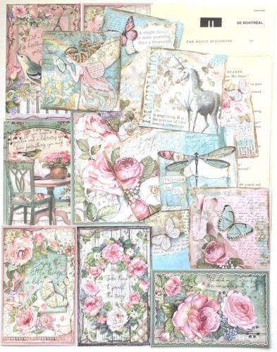 Stamperia Scrapbook Papers 75+ Items Vintage Book Pages Junk Journal Supplies