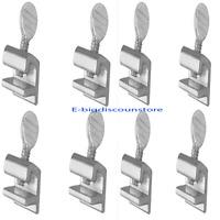 8 Pcs Sliding Window Locks Safety Easy Installation High Security Home Lock