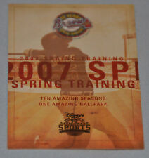 Atlanta Braves 2007 Spring Training Pocket Schedule (Disney's Wide World Sports)