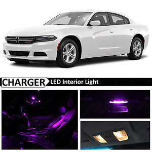 Details About 2015 2016 Dodge Charger Fuchsia Purple Interior Led Lights Package Kit