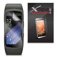 6-pack Clear XtremeGuard Hi-def Screen Protector for Samsung Gear Fit 2
