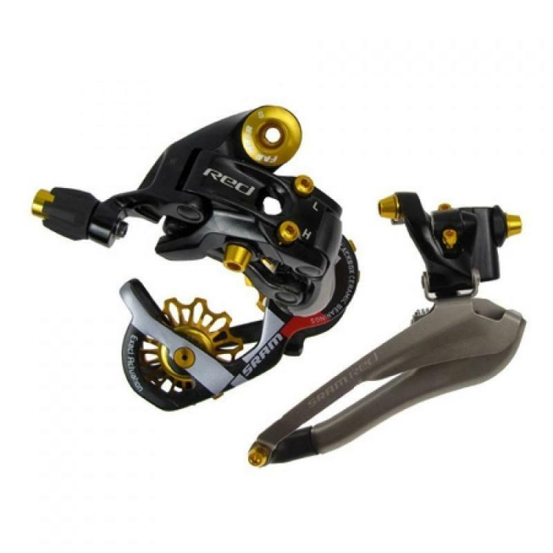 Far and near Kit de tuneo Shimano oro, Roldan