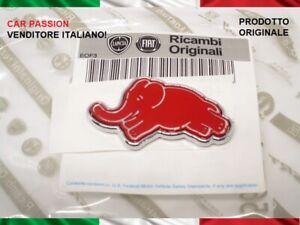 stemma-fregio-LANCIA-Y-ypsilon-ELEFANTINO-ROSSO-logo-montante-porta-ORIGINALE